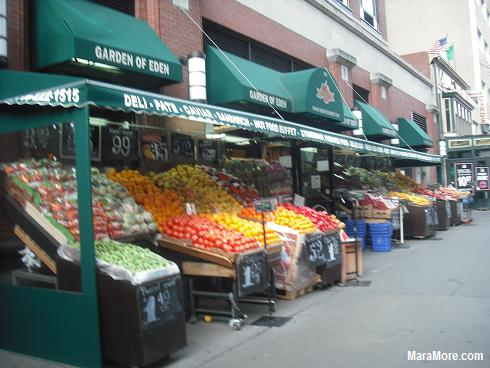 Fruit Stand in Brooklyn, NYC