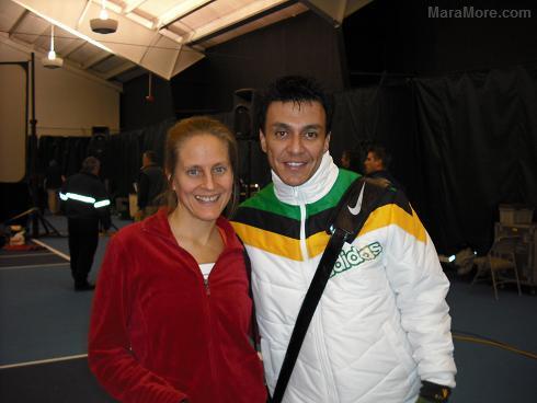 Mara More and Beto Perez